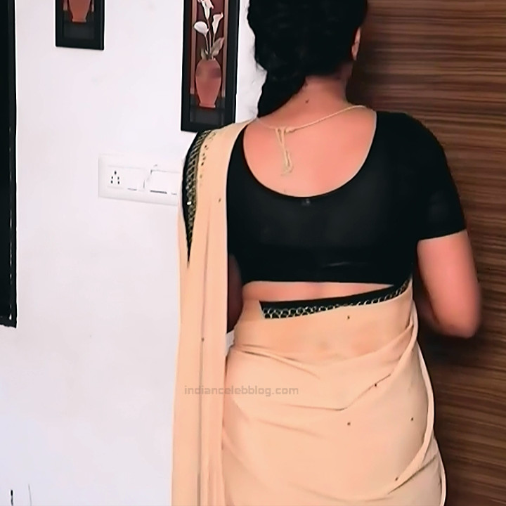 Apoorva Bharadwaj Kannada Serial Sathyam SSS1 9 hot saree photo