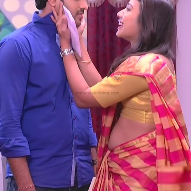 Chandana Raghavendra Kannada TV Actress Sindoora S2 13 hot saree pics