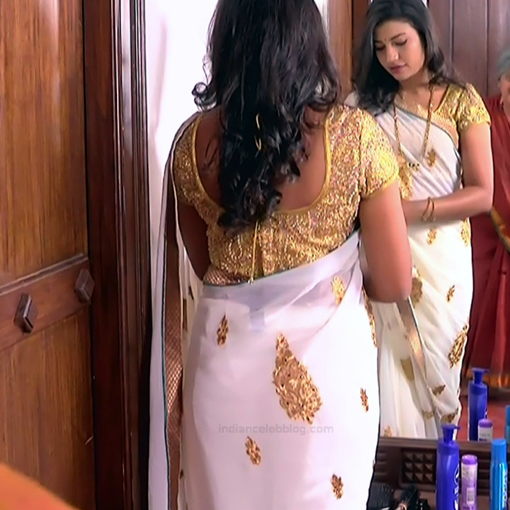 Chandana Raghavendra Kannada TV Actress Sindoora S2 8 hot saree pics