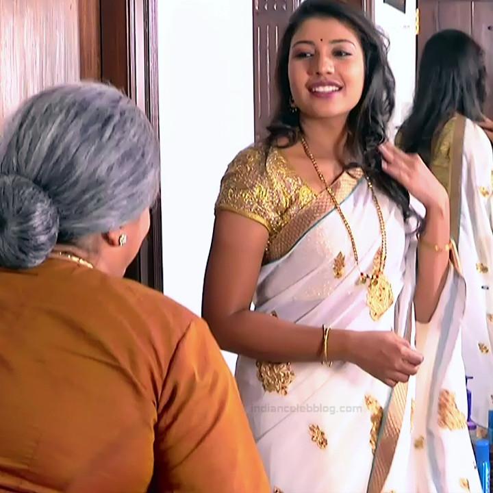 Chandana Raghavendra Kannada TV Actress Sindoora S2 9 hot saree pics