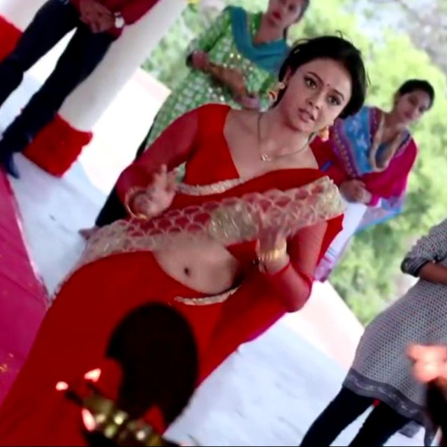 Devoleena Bhattacharjee Hindi TV actress CTS1 17 hot saree pics