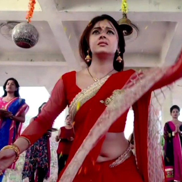 Devoleena Bhattacharjee Hindi TV actress CTS1 19 hot saree pics