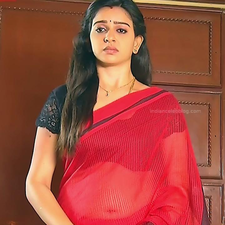 Divya ganesh Tamil serial actress Sumangali S35 hot sari photos