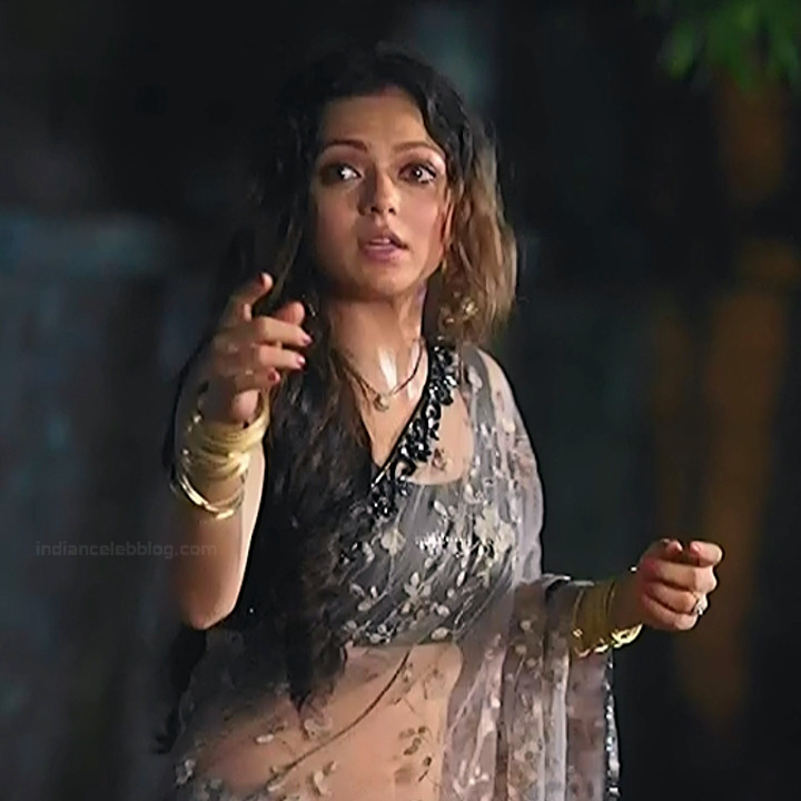 Drashti Dhami Hindi TV actress SilsilaS1 6 hot saree pics