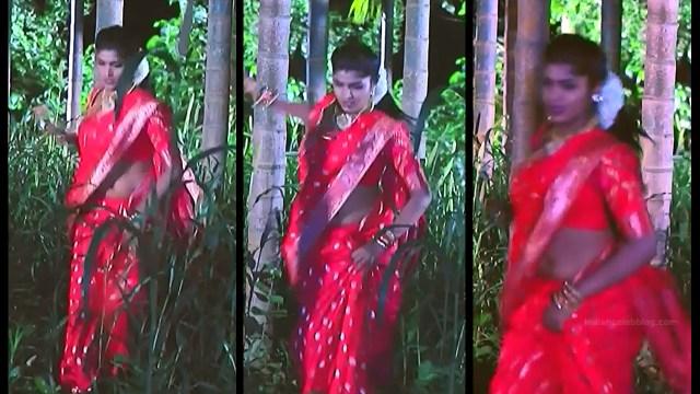 Kannada TV serial actress Bili HS1 10 hot sari caps