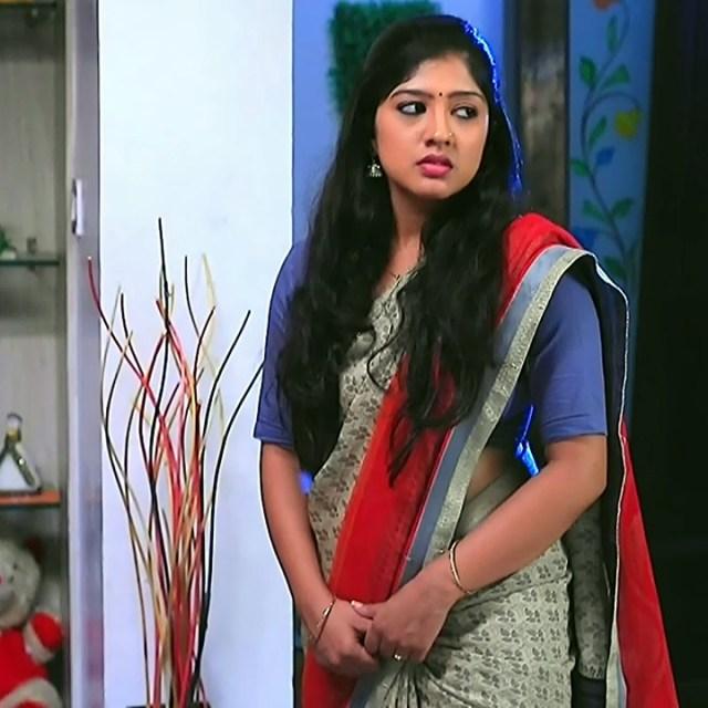 Meghana Shankarappa Kannada TV actress Kinnari S2 16 hot saree pics