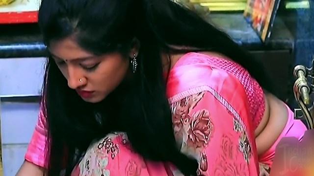 Meghana Shankarappa Kannada TV actress Kinnari S2 20 hot saree pics