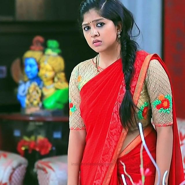 Meghana Shankarappa Kannada TV actress Kinnari S2 21 hot saree pics