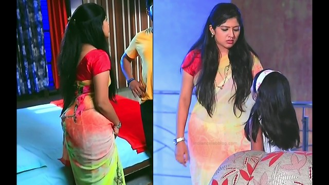 Meghana Shankarappa Kannada TV actress Kinnari S2 23 hot saree pics