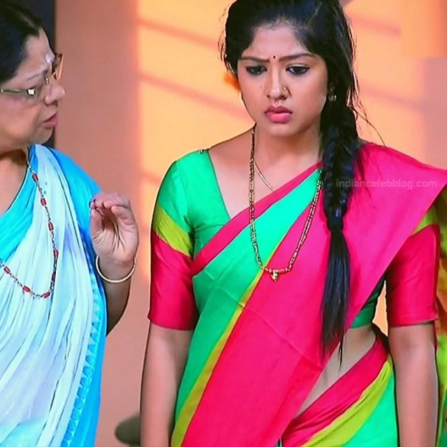 Meghana Shankarappa Kannada TV actress Kinnari S2 3 hot saree pics