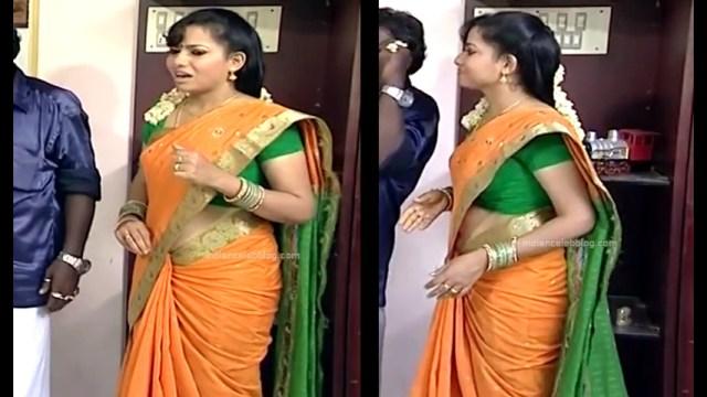 Minnal Deepa Tamil TV actress PonDTS1 9 hot sari caps