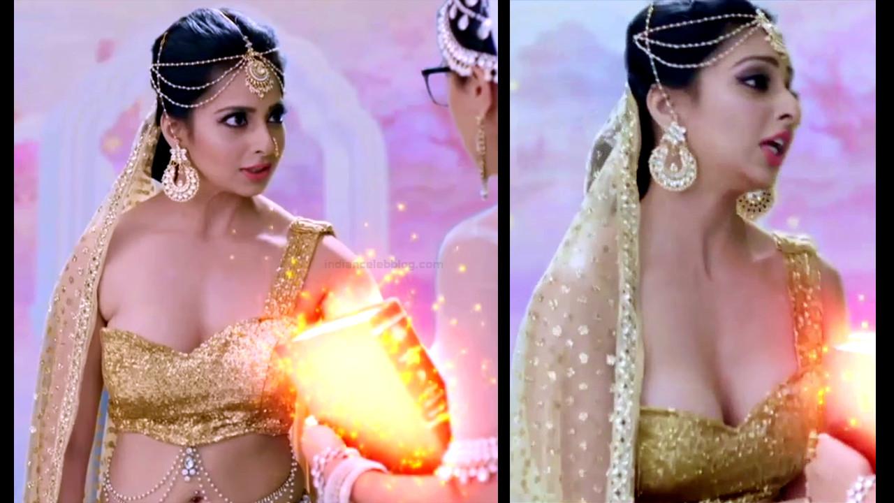 Monica Castelino hindi tv actress YTDS2 5 hot cleavage pics