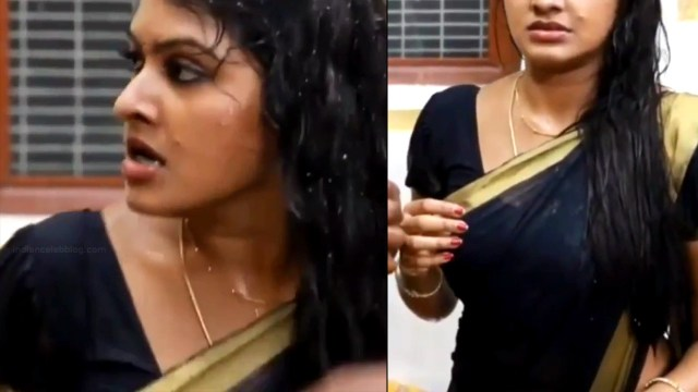 Rachitha Mahalakshmi Saravanan MS1 18 hot saree caps