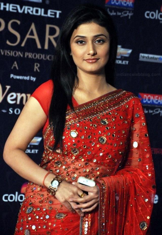 Ragini Khanna Hindi TV Actress CelebTS1 11 hot Saree photos