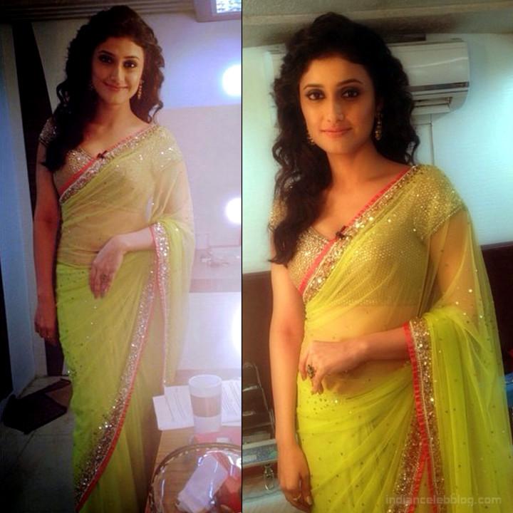 Ragini Khanna Hindi TV Actress CelebTS1 20 hot Saree photos