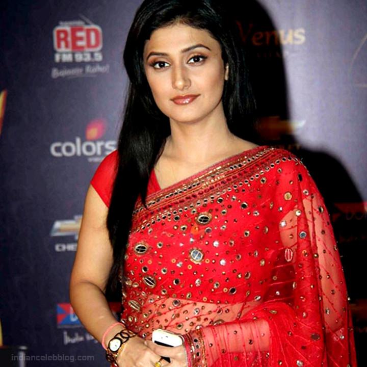 Ragini Khanna Hindi TV Actress CelebTS1 5 hot Saree photos
