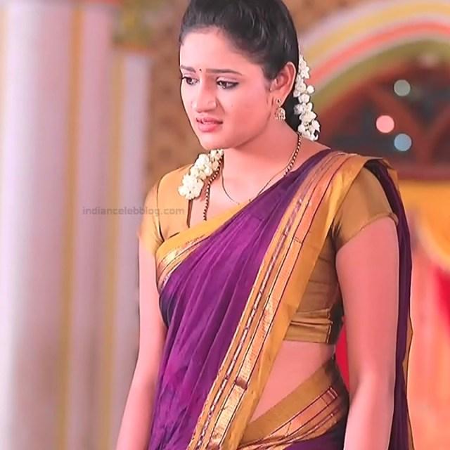 Ranjani Raghavan Kannada TV actress PuttGMS2 11 hot sari pics