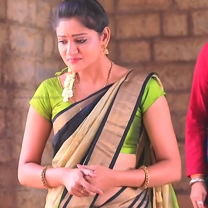 Ranjani Raghavan Kannada TV actress PuttGMS2 16 hot saree photos