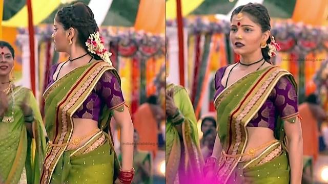 Rubina Dilaik Hindi TV actress ShaktiAS5 1 hot sari photo