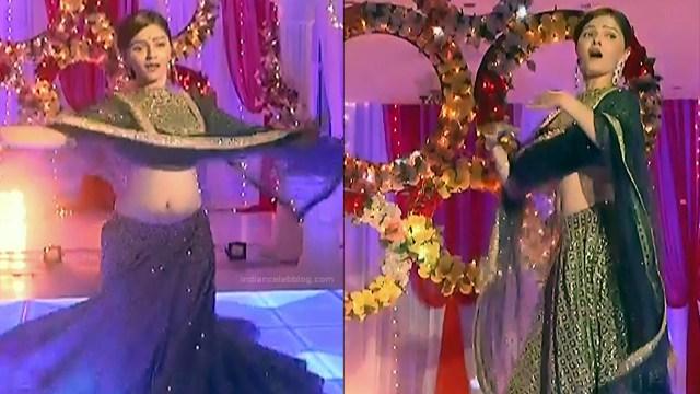 Rubina Dilaik Hindi TV actress ShaktiAS5 13 hot sari photo