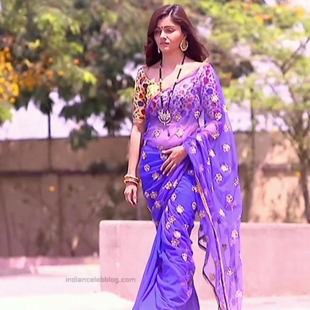 Rubina Dilaik Hindi TV actress ShaktiAS5 2 hot sari photo