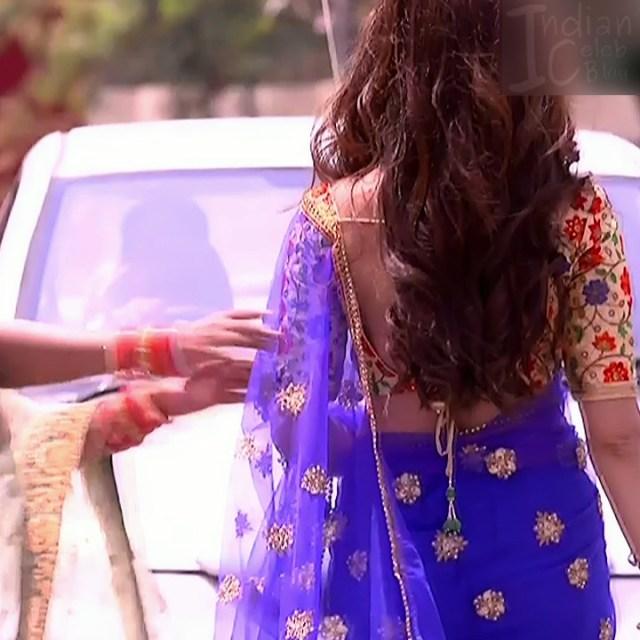 Rubina Dilaik Hindi TV actress ShaktiAS5 5 hot sari photo