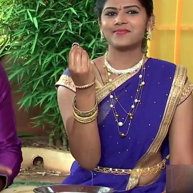 Sangeetha Kamath shravya karthika deepam actress 21 hot saree pics