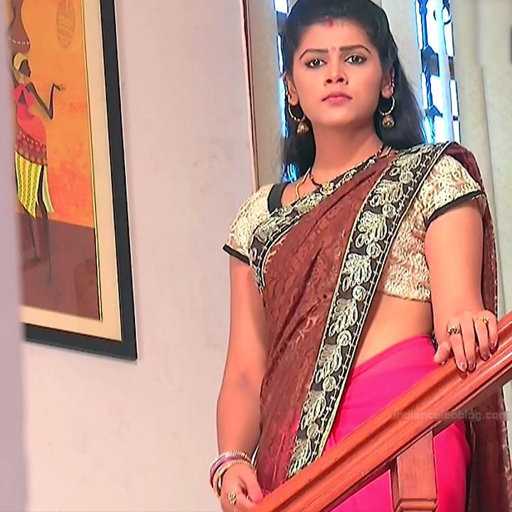 Sangeetha Kamath shravya karthika deepam actress 6 hot saree pics