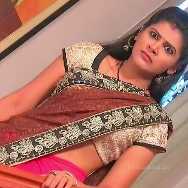 Sangeetha Kamath shravya karthika deepam actress 8 hot saree photo