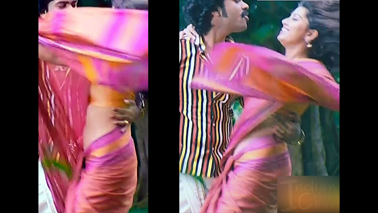 Sneha Sexy Navel Show Hd Song Caps Mix  Indian Celeb Blog-3293