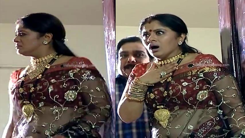 Sudha chandran Tamil TV actress PonDTS1 10 hot saree photo