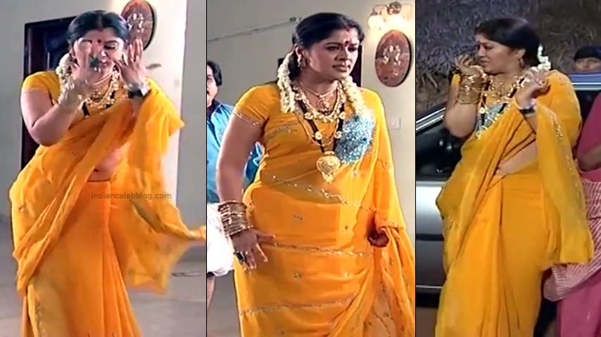 Sudha chandran Tamil TV actress PonDTS1 7 hot saree navel pics