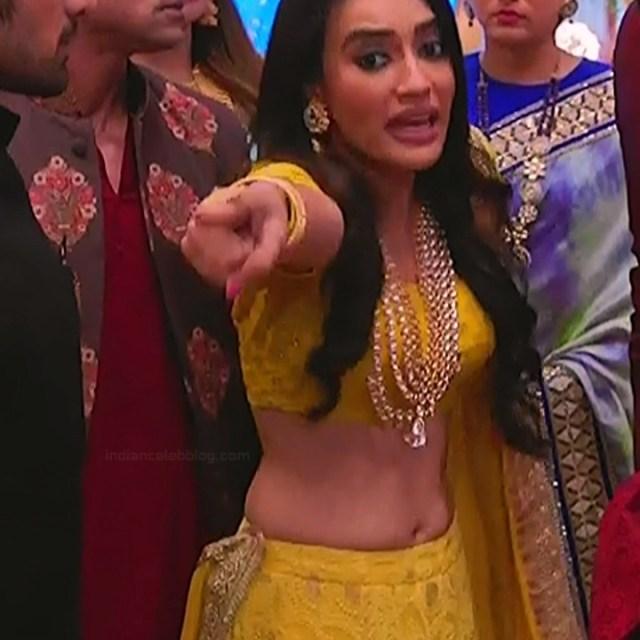 Surbhi Jyoti Hindi TV actress Naagin S1 22 hot lehenga choli pics