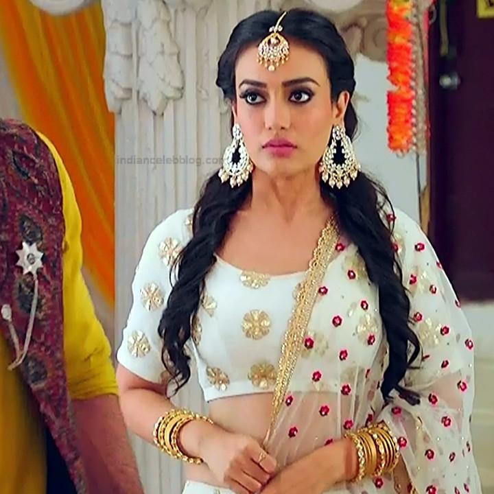 Surbhi Jyoti Hindi TV actress Naagin S1 3 hot lehenga choli pics