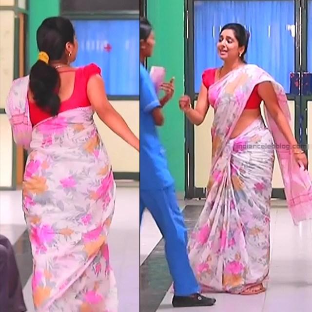 Syamantha Kiran Tamil tv actress Saravanan MS1 11 hot saree pics
