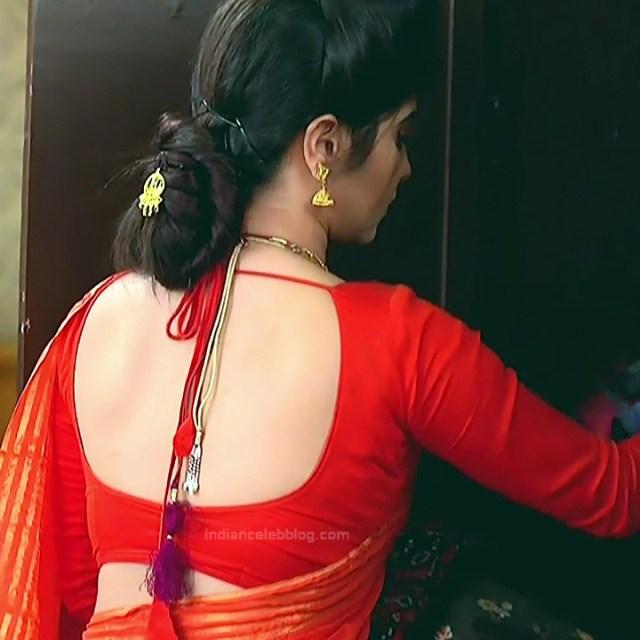 Bengali TV serial actress CompGS1 1 hot saree photo