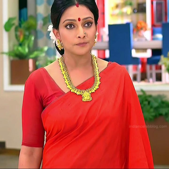 Bengali TV serial actress CompGS1 12 hot saree pics