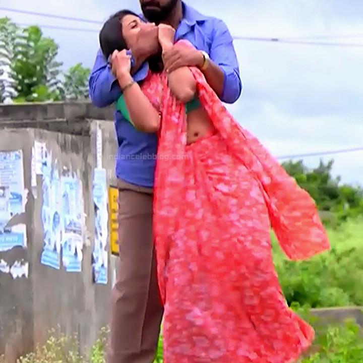 Chandana Raghavendra Kannada tv actress Sindoora S3 4 hot saree photo
