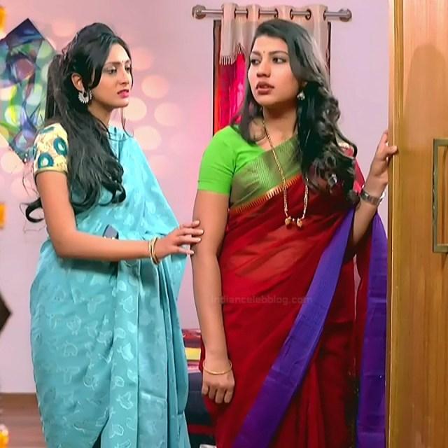 Chandana Raghavendra Kannada tv actress Sindoora S3 7 hot sari photo