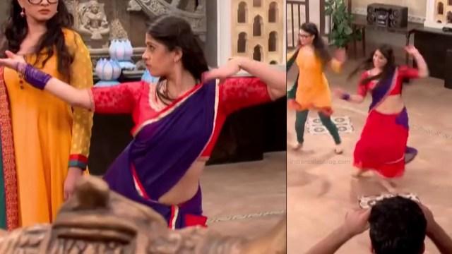 Chandni Bhagwanani hindi tv actress Tumhi S3 8 hot sari pics