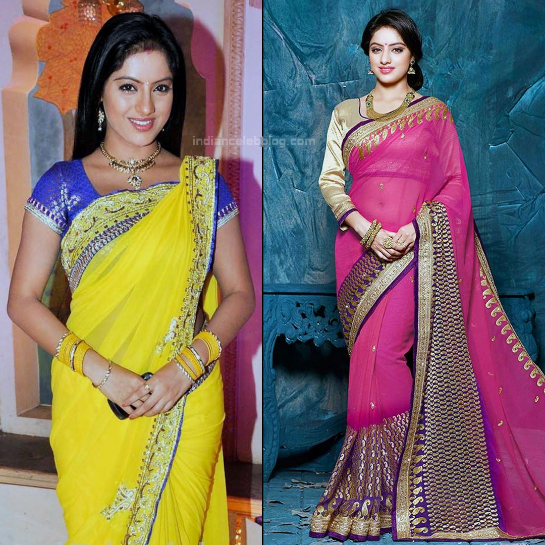 Deepika singh hindi serial actress CTS2 5 hot saree pics