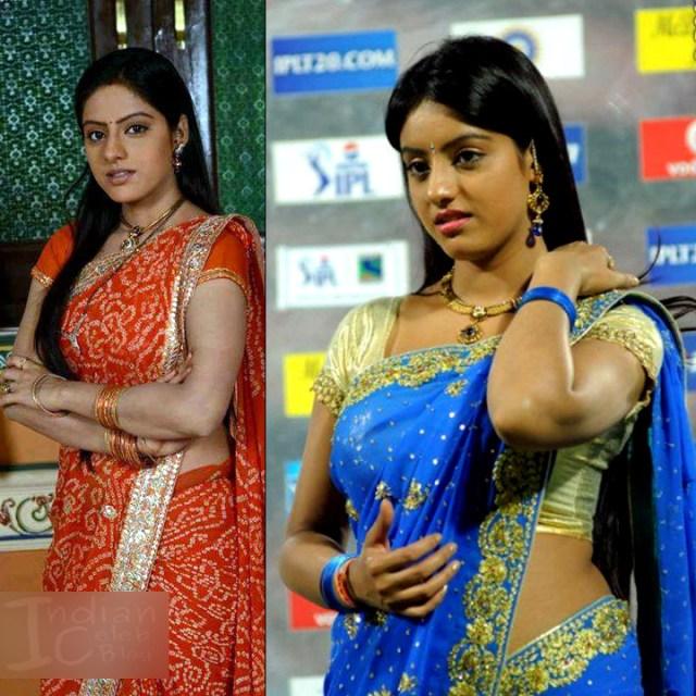 Deepika singh hindi serial actress CTS2 7 hot saree pics
