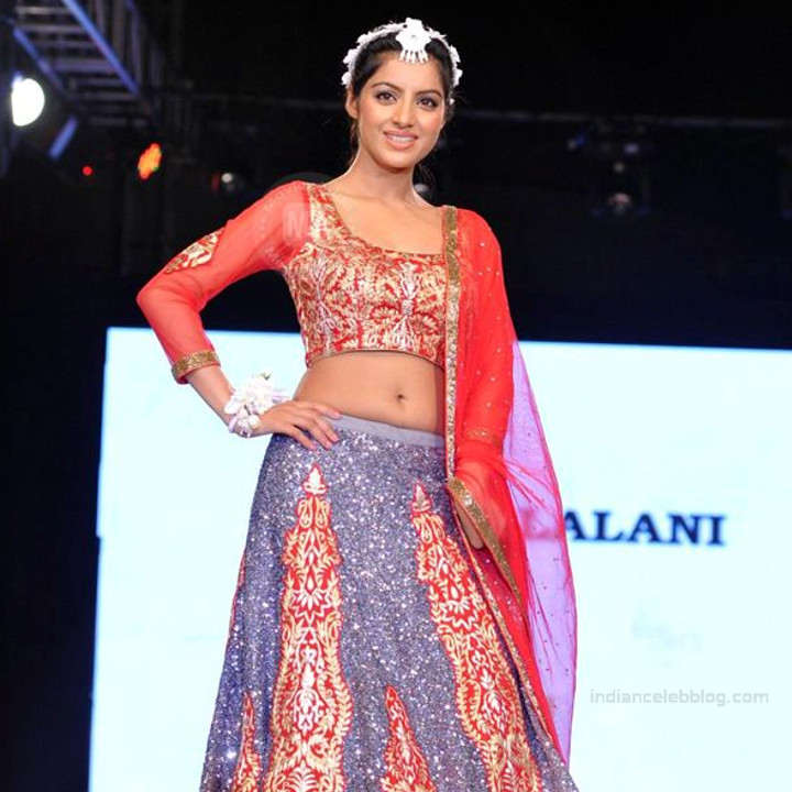 Deepika singh TV actress YTDS3 1 fashin ramp walk photo in lehenga