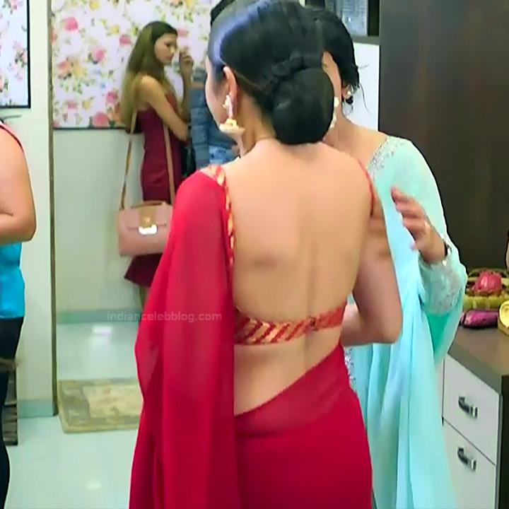 Drashti dhami hindi tv actress Silsila S2 15 hot backless saree photo