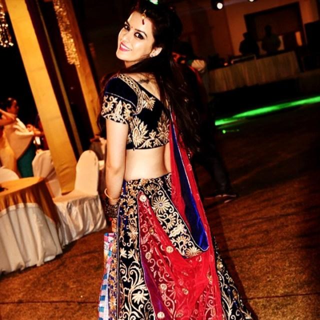 Ekta Kaul Hindi serial actress CTS1 12 hot lehenga photo