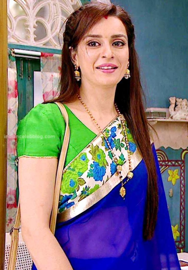 Ekta Kaul Hindi serial actress CTS1 3 hot sari photo