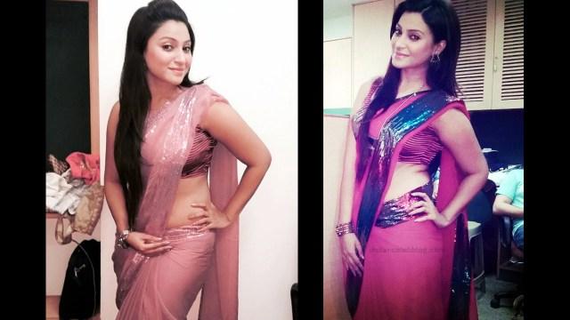 Hindi TV actress Aleeza khan CTS2 5 hot saree pics