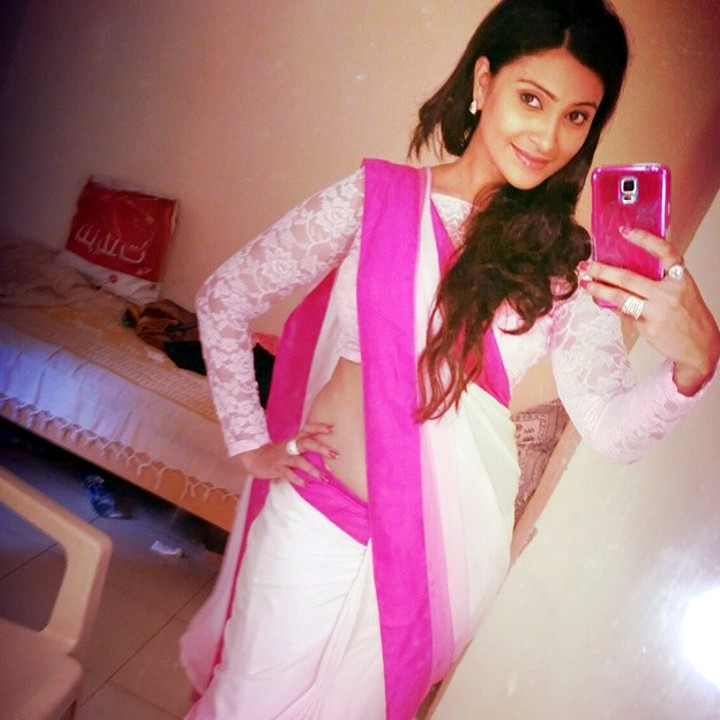 Hindi TV actress Aleeza khan CTS2 7 hot sari photo