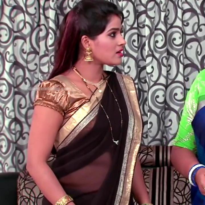Monisha telugu tv actress Nandhini VNS1 18 hot transparent sari caps