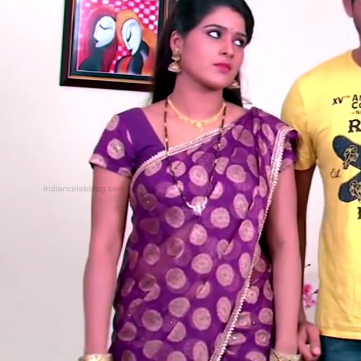 Monisha telugu tv actress Nandhini VNS1 19 hot sari caps
